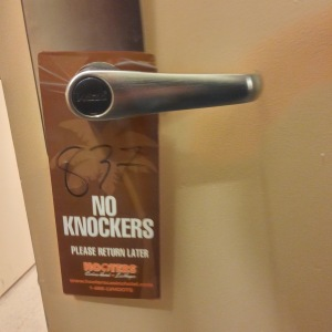 Hooters Vegas door knockers
