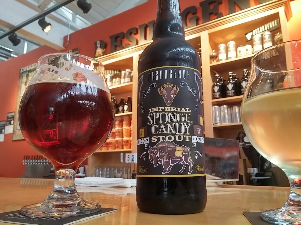 Sponge Candy Resurgence Beer Brewery Buffalo